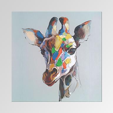 Animal / Famoso / Patriótico / Moderno / Romântico Impressão em tela Um Painel Pronto para pendurar,Quadrada