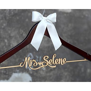 Noiva Dama de Honor Menina das Flores Casal Pais Madeira Prenda Criativa Casamento