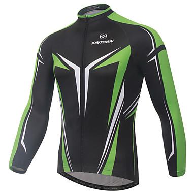 XINTOWN Camisa para Ciclismo Homens Manga Longa Moto Camisa/Roupas Para Esporte Blusas Secagem Rápida Resistente Raios Ultravioleta