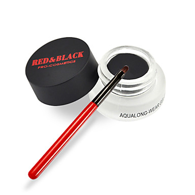 Red&Black Aque Longwear Gel Eyeliner Gentle Without Irritation Water-proof  5g