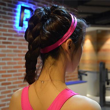 Frauen Männer Yoga Haarbänder Sportstirnband Anti-Rutsch-elastische Gummi Schweißleder Fußball Yoga Laufen Radfahren