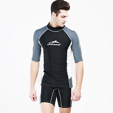 SBART Muškarci / Žene Protiv osipa T-majica / Kupaći kostimi / Protiv osipa Ultraviolet Resistant, Prozračnost Dugih rukava - Plivanje /