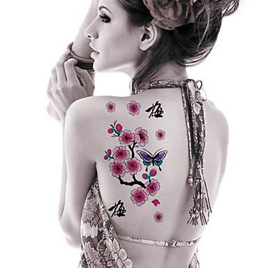 Tatuagens Adesivas Outros Desenhos Animados Feminino Masculino Adulto Adolescente Tatuagem Adesiva Tatuagens temporárias