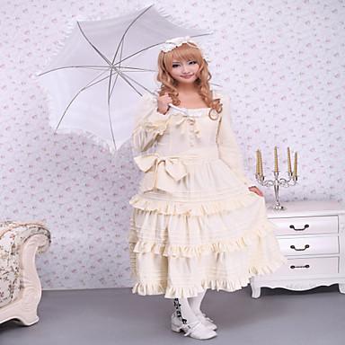 Gothic Lolita Classic/Tradicionalna Lolita Steampunk® Čipka Žene Haljine Cosplay Dugih rukava Dužina kratkih hlača