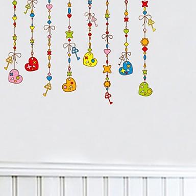 חיות / אנימציה / רומנטיקה / דוממים / אופנה / חג / צורות / וינטג' / אנשים / פנטזיה / נופש מדבקות קיר מדבקות קיר תלת מימד,PVC 50*70cm
