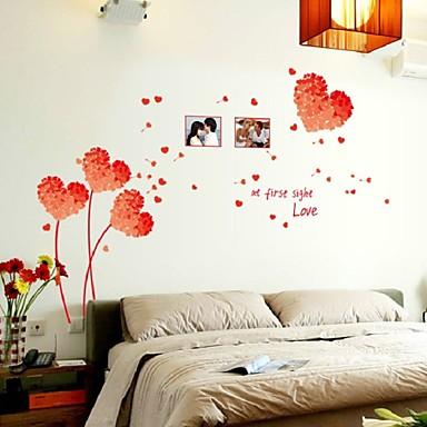 애니멀 / 카툰 / 로맨스 / 정물화 / 패션 / 휴일 / 모양 / 빈티지 / 사람들 / 판타지 / 레져 벽 스티커 3D 월 스티커,PVC 50*70cm