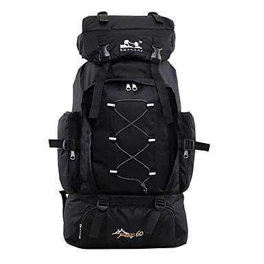 60 L Retkeilyreput Läppärilaukut Matkatavarat Travel Organizer Backpack Rinkka Metsästys Kalastus Retkeily ja vaellus Matkailu