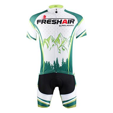 ILPALADINO Camisa com Shorts para Ciclismo Homens Manga Curta Moto Camisa/Roupas Para Esporte Shorts Conjuntos de Roupas Secagem Rápida