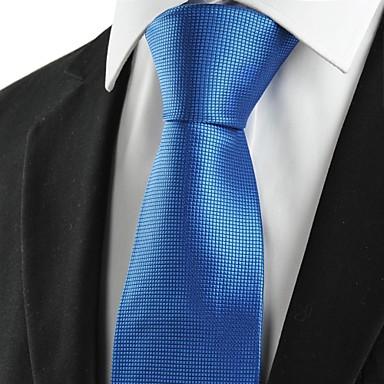 Krawatte(Blau,Polyester)Gitter