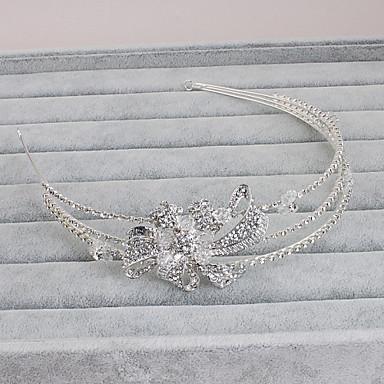 라인석 머리띠 1 결혼식 특별한 때 캐쥬얼 사무실 및 경력 집 밖의 투구