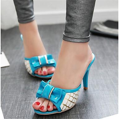 b56c0ba313c87 Women's Shoes Patent Leather Stiletto Heel Heels / Peep Toe Clogs & Mules  Office & Career