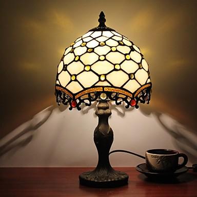 Flerskjerms Tiffany / Rustikk / Hytte / Original Skrivebordslampe Harpiks Vegglampe 110-120V / 220-240V 25W