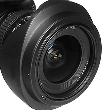 newyi® ew-75ii sombra cobertura da lente para Canon EF 20 milímetros f / 2.8 USM 20-35mm f / 2.8L rosca 72 milímetros (ew-75 ii)