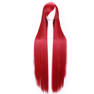 Popular Synthetic Hair Woman's Cosplay Wigs Long Straight Animated Wig