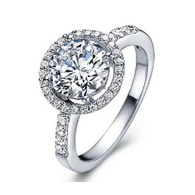 Dame Statement Ring - Sølvplett En størrelse Sølv Til Fest