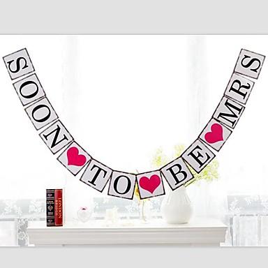 Hochzeit / Jahrestag / Geburtstag Perlenpapier Hochzeits-Dekorationen Strand / Garten / Asiatisch Frühling / Sommer / Herbst