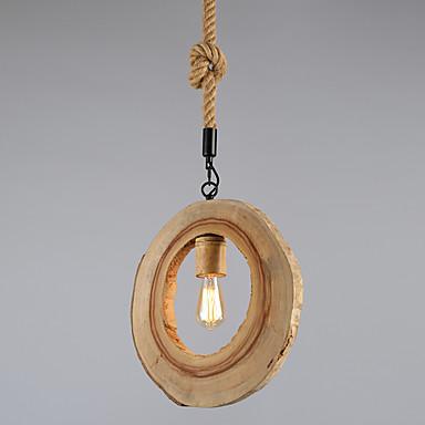 Pendelleuchten ,  Zeitgenössisch Korrektur Artikel Eigenschaft for Ministil Holz/BambusWohnzimmer Schlafzimmer Esszimmer