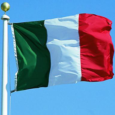דגל איטליה מרקם לאומי עבור אולימפיאדת גביע עולם אירו 90 * 153cm