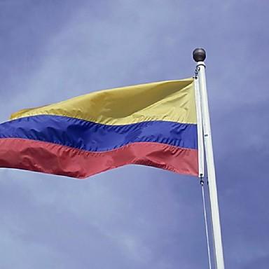 colombia colombianere republikken nasjonal VM flagg dekorasjon / home / festival / hengende flag.90 * 150cm