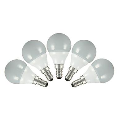 FSL® 200 lm E14 E26/E27 Круглые LED лампы G60 5 светодиоды SMD 2835 Тёплый белый Холодный белый AC 220-240V