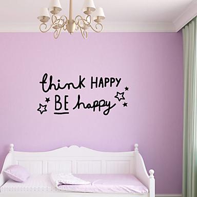 Landschaft Romantik Tafel Mode Formen Feiertage Worte & Zitate Cartoon Design Fantasie Wand-Sticker Worte & Zitate Wandaufkleber