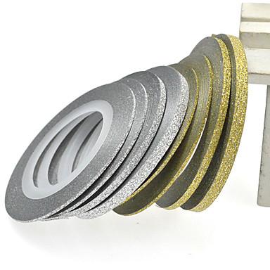 1 Neglekunst klistremerke Negle Smykker Andre Dekorationer Abstrakt Smuk Bryllup Sminke Kosmetikk Neglekunst Design