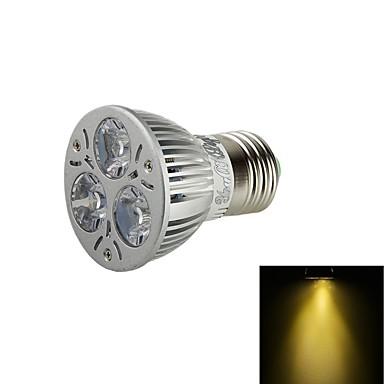 E26/E27 Lâmpadas de Foco de LED BA 3 leds LED de Alta Potência Decorativa Branco Quente 3000lm 3000KK AC 85-265 AC 220-240 AC 100-240 AC