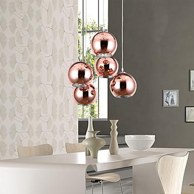 moderno contempor neo esfera mini estilo l mparas