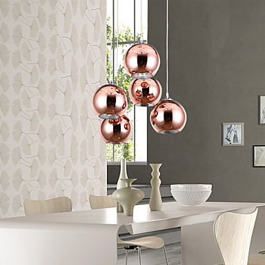 Moderno contempor neo esfera mini estilo l mparas - Lampara para dormitorio moderno ...