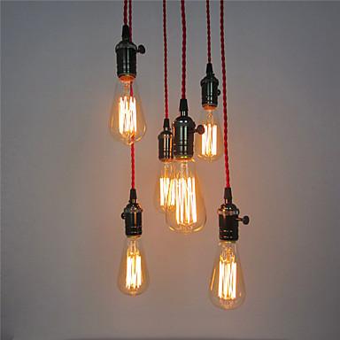 Retro Ministil Pendelleuchten Raumbeleuchtung Für Wohnzimmer Schlafzimmer Küche Esszimmer Studierzimmer/Büro Eingangsraum Spielraum