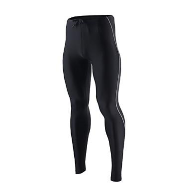 Arsuxeo Herre Tights til jogging / Treningstights sport Tights / Leggings Sportsklær Fort Tørring, Pustende, Myk Høy Elastisitet