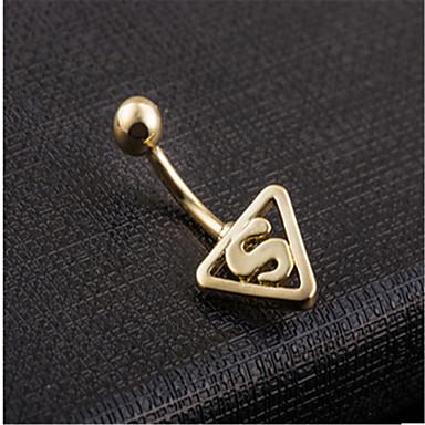 여성용 바디 쥬얼리 Navel & Bell Button Rings 파티 캐쥬얼 스테인레스 합금 보석류 제품 캐쥬얼