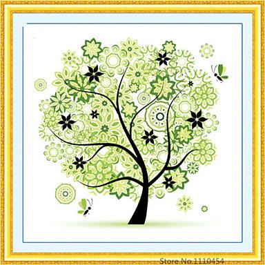 Diamanten Stickerei 30 * 30cm Frühling Sommer Herbst Winter vier Jahreszeiten Baum runden Diamant-Kreuzstich Diamant Mosaik