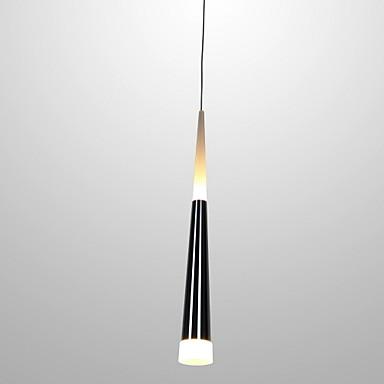 Ecolight™ Cone Anheng Lys Omgivelseslys galvanisert Metall Akryl LED 90-240V Varm Hvit / Hvit LED lyskilde inkludert / Integrert LED