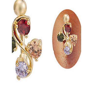 Others Tikovina Navel Ring / Trbušni Piercing - Žene Rose Gold Jedinstven dizajn / Zabava / Ležerne prilike Nakit za tijelo Za Kauzalni