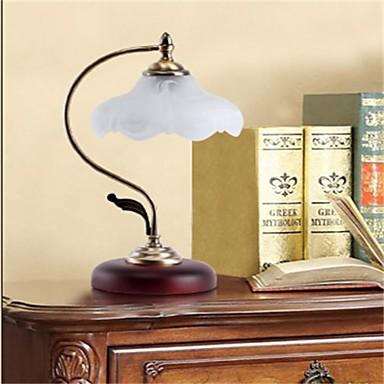 Íróasztali lámpa-Ívelt-Rusztikus-Fém