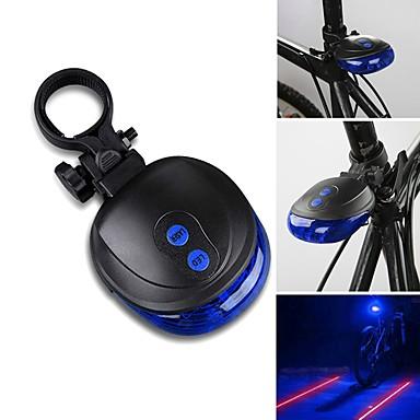 Fahrradrücklicht Laser LED - Radsport Wasserfest Laser LED-Lampe AAA 1000lm Lumen Batterie Radsport