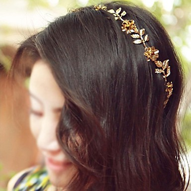 legierung stirnbänder kopfschmuck hochzeit elegant weiblich stil