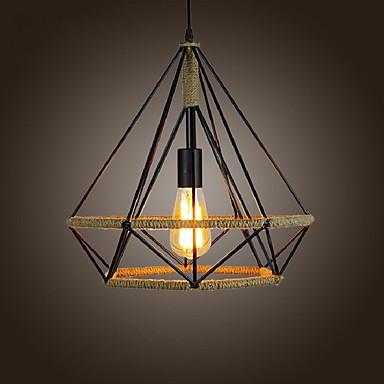 Pendelleuchten ,  Rustikal Korrektur Artikel Eigenschaft for LED Designer MetallWohnzimmer Schlafzimmer Esszimmer Küche