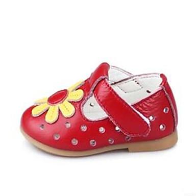 Za djevojčice Ravne cipele Ljeto Cipele Mary Jane PU Formalne prilike / Ležerne prilike Mašnica Ružičasta / Crvena / Bijela