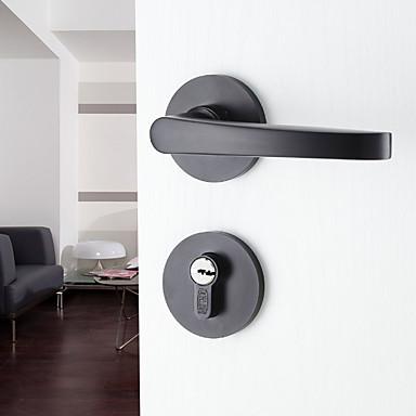 dorlink® moderne Aluminium schwarz Schlüssel Eintrag Türschloss