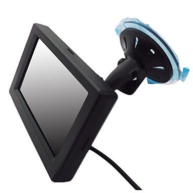 4.3 인치 TFT-LCD 자동차 리어 뷰 2 AV 채널 높은 품질 모니터링