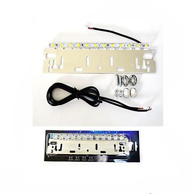 1pcs 7w DC12V / DC24V 600lm rød / blå / hvit, høy effekt med høy lysstyrke akterut bremsehjelpelampe for bil