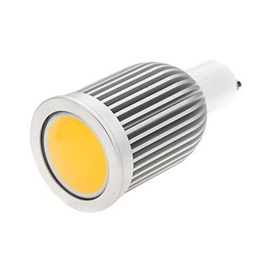 5W GU10 LED-kohdevalaisimet MR16 1 COB 650 lm Lämmin valkoinen / Kylmä valkoinen Koristeltu AC 85-265 V 1 kpl