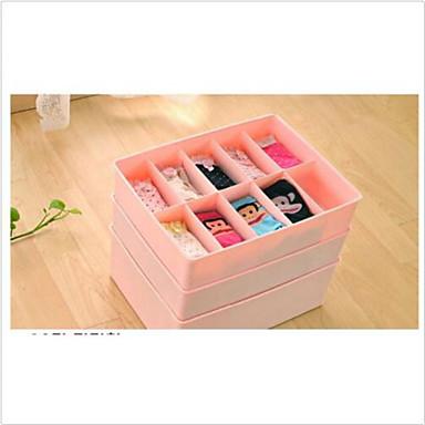 Storage Boxes Plastika ssvojstvo je Kapaka / Otvoreno , Za Donje rublje