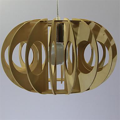 מנורות תלויות ,  רטרו אחרים מאפיין for LED עץ/במבוק חדר שינה חדר אוכל חדר עבודה / משרד מסדרון נורה 1