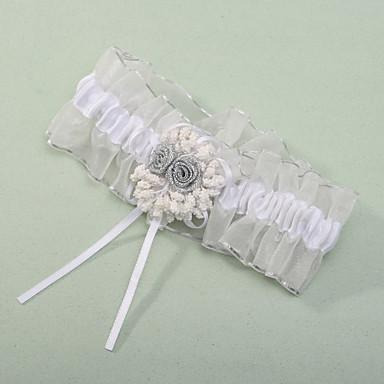 Polyester Klassisch Hochzeitsstrumpfband  -  Blume Strumpfbänder