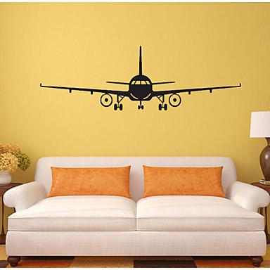 Former Transport Veggklistremerker Fly vægklistermærker Dekorative Mur Klistermærker, PVC Hjem Dekor Veggoverføringsbilde Vegg