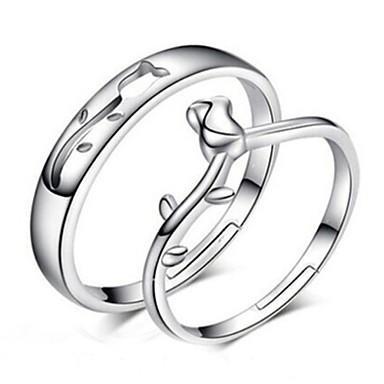 Damen Silber Sterling Silber Silber Modisch Alltag Modeschmuck