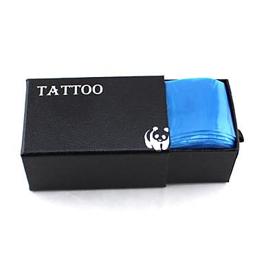 tattoo zubehör 100 stücke tattoo clip kabelabdeckung tattoo liefert werkzeuge